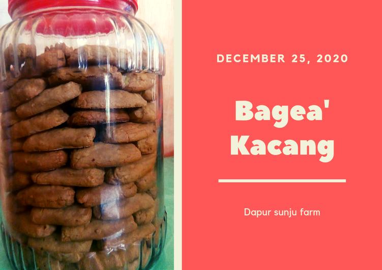 Kue kering Bagea' kacang
