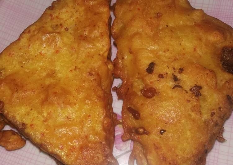 Recipe of Top-Rated Bread pakoda