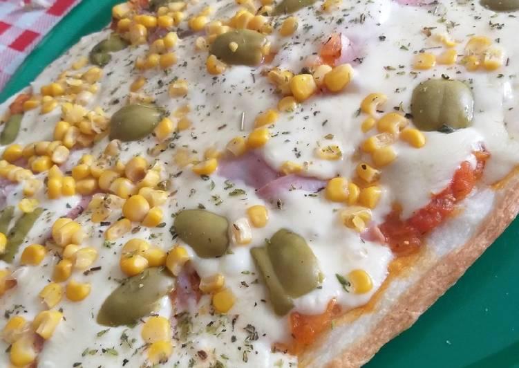 Masa para pizza receta en tazas