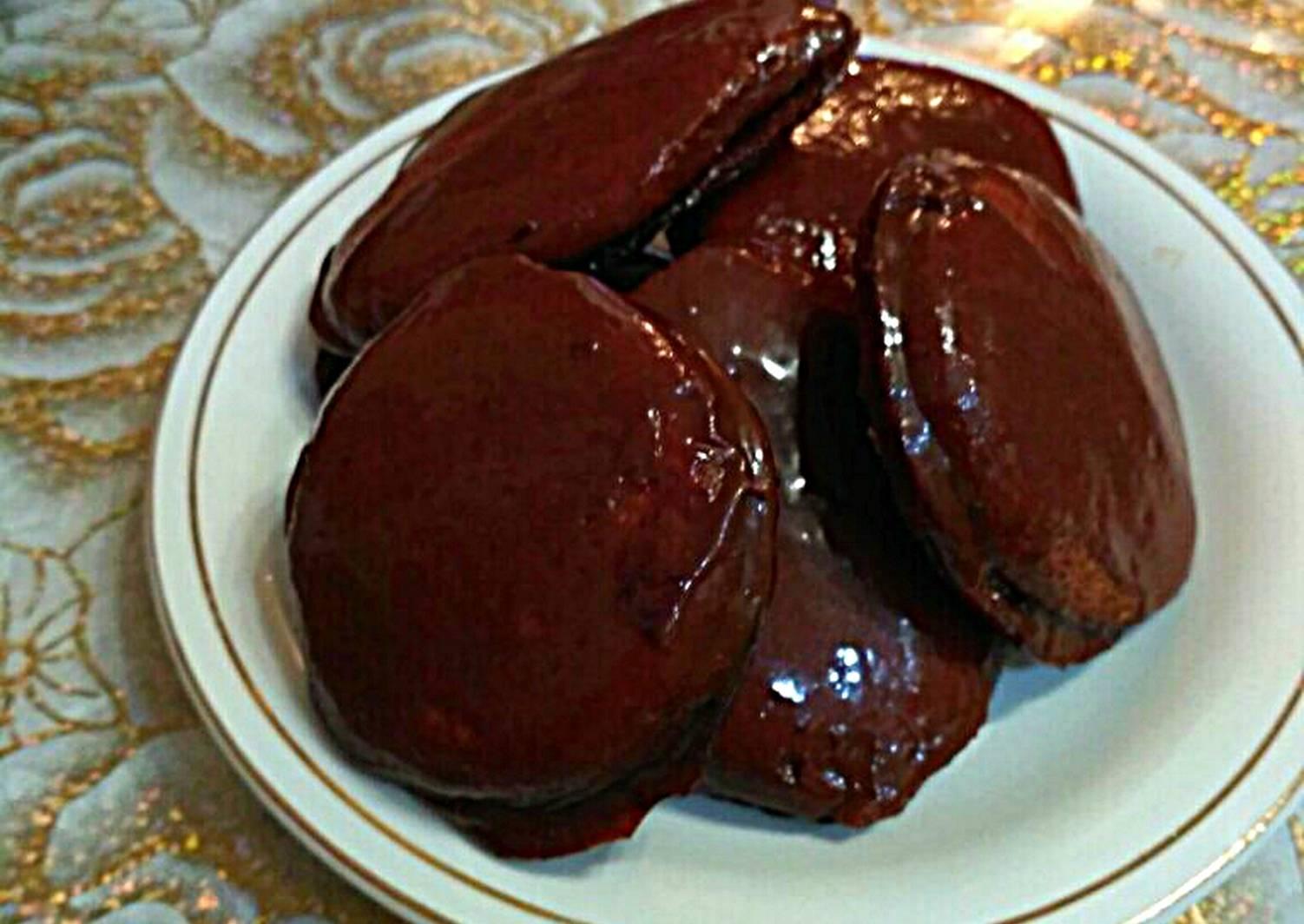 этом печенье в шоколадной глазури рецепт с фото еще
