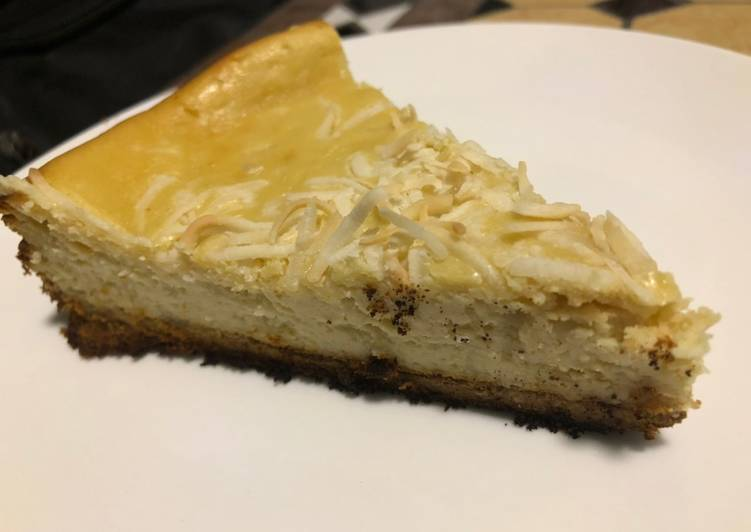 Try Using Food to Boost Your Mood Coconut Cheesecake