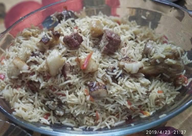 Afghani pulao #CookpadApp, Foods That Help Your Heart