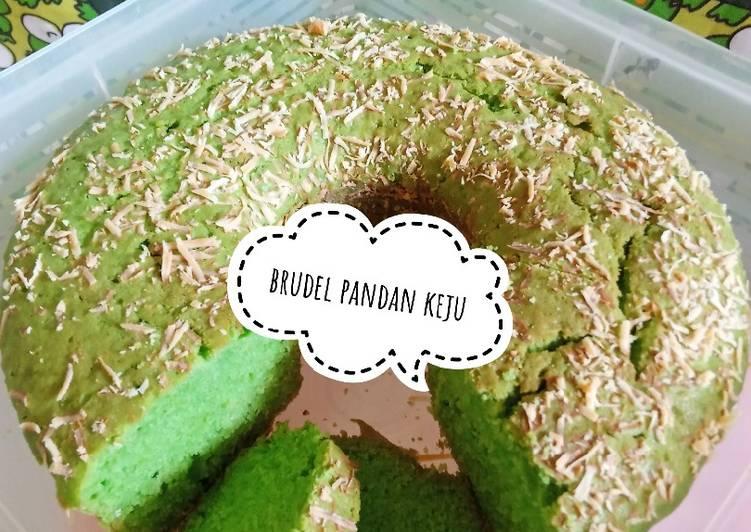 Brudel pandan keju