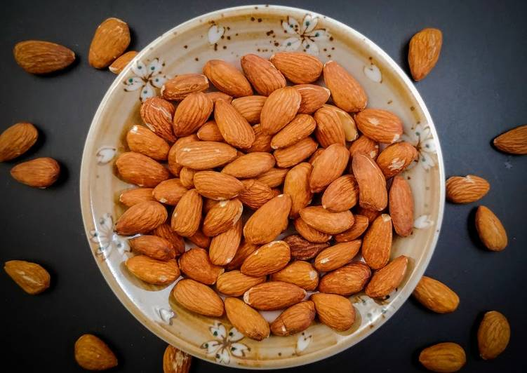 Recipe: Perfect Air Fryer Roasted Almonds