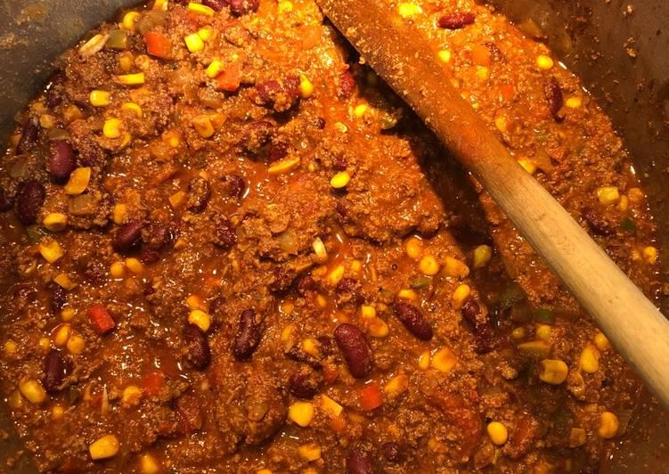Les Meilleures Recettes de Chili Con Carne