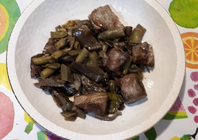 Wok de Costilla con verduras