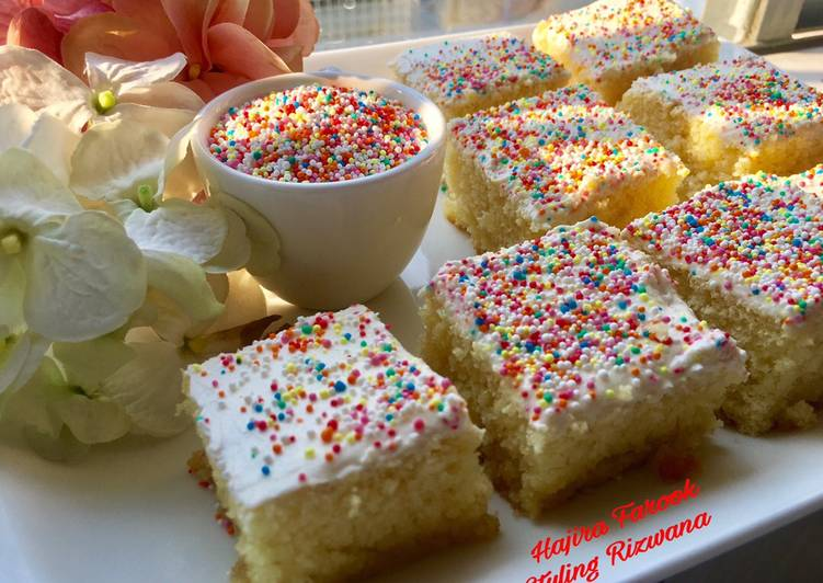 Recipe of Most Popular Old Fashioned Sponge Cake
