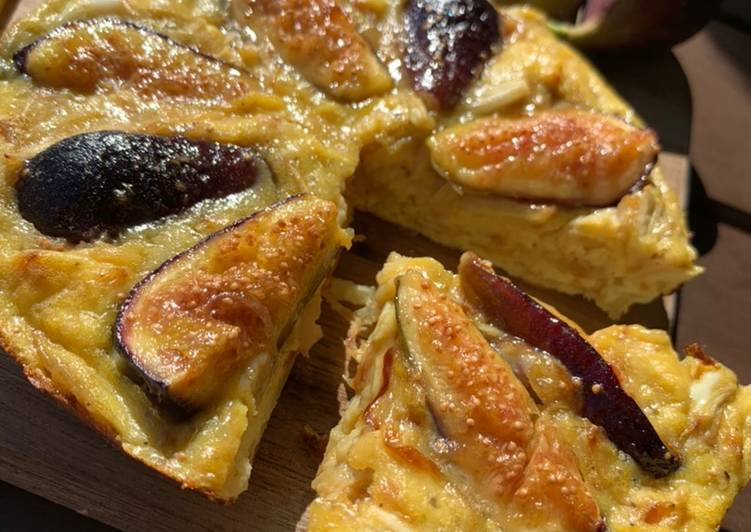 Recipe of Homemade Yummy Fig Omelet