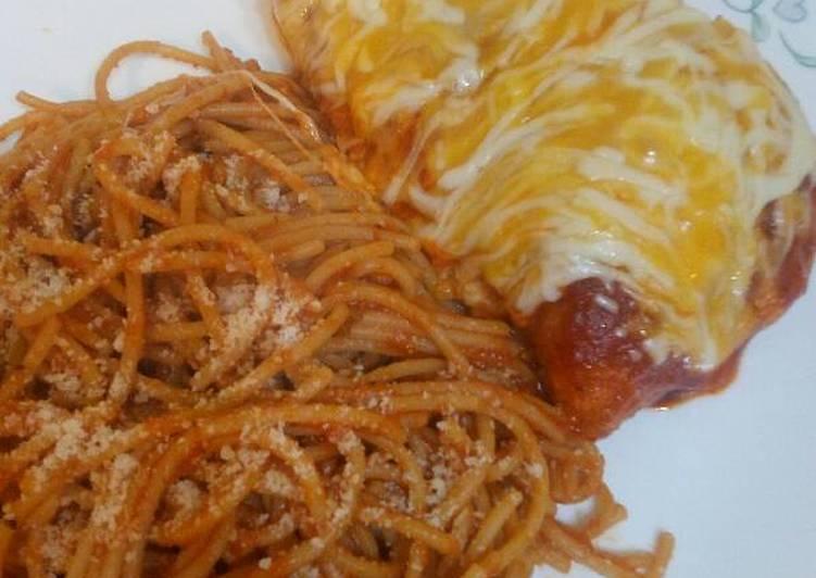 Recipe: Tasty Chicken Parmesan