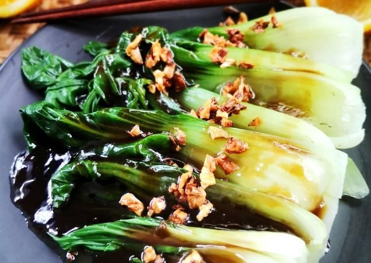 Bok Choy Oyster Sauce - resepipouler.com