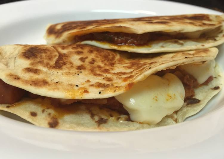 Recipe of Quick Chorizo Quesadillas