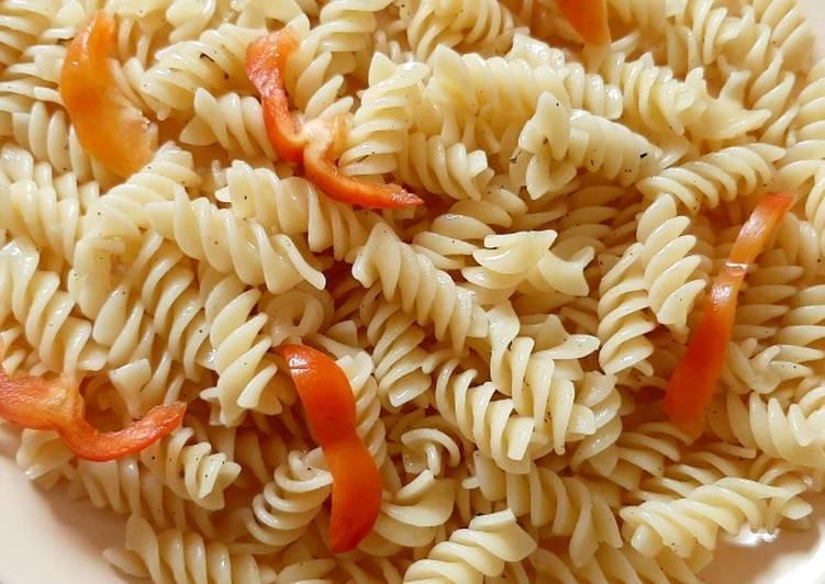 Steps to Make Quick Tortiglioni