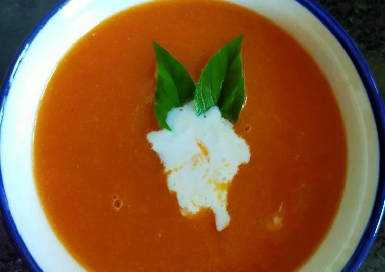 Recipe of Award-winning Tomato Soup (No Onion No Garlic)