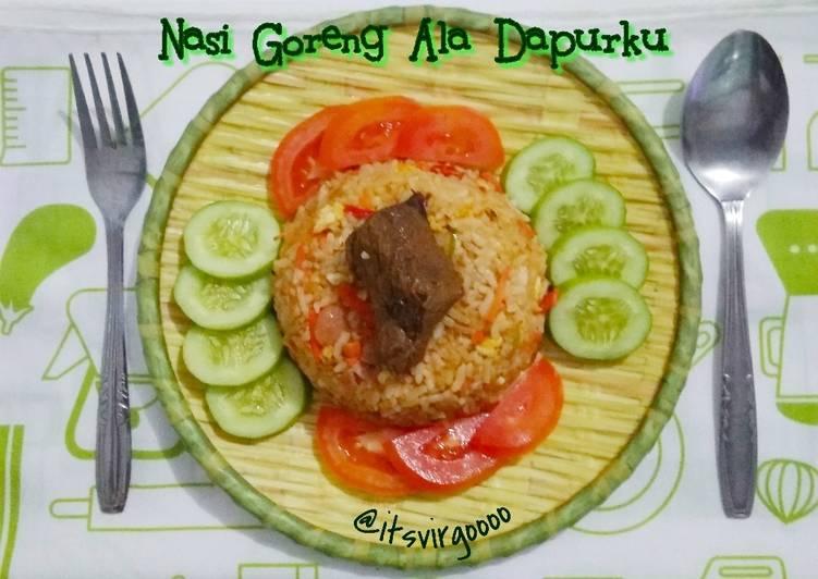 #231 Nasi Goreng Ala Dapurku