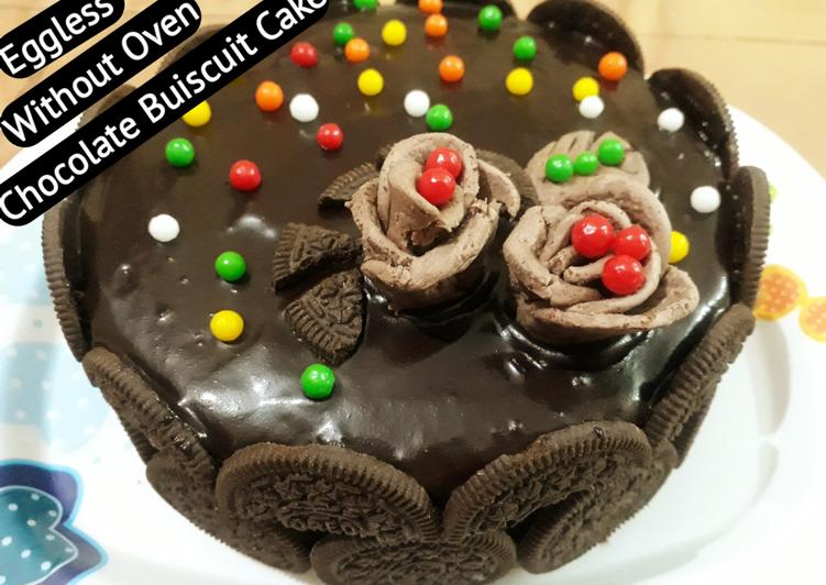 Recipe of Speedy Double Layer Oreo Cake