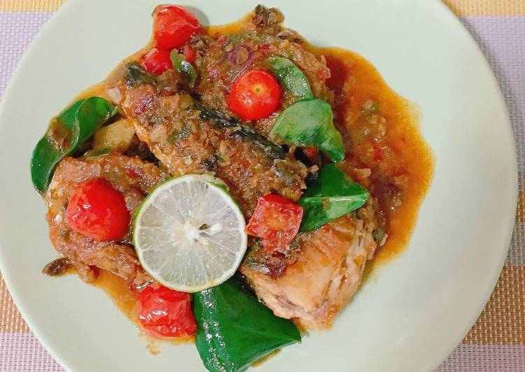 Mackerel fish balado