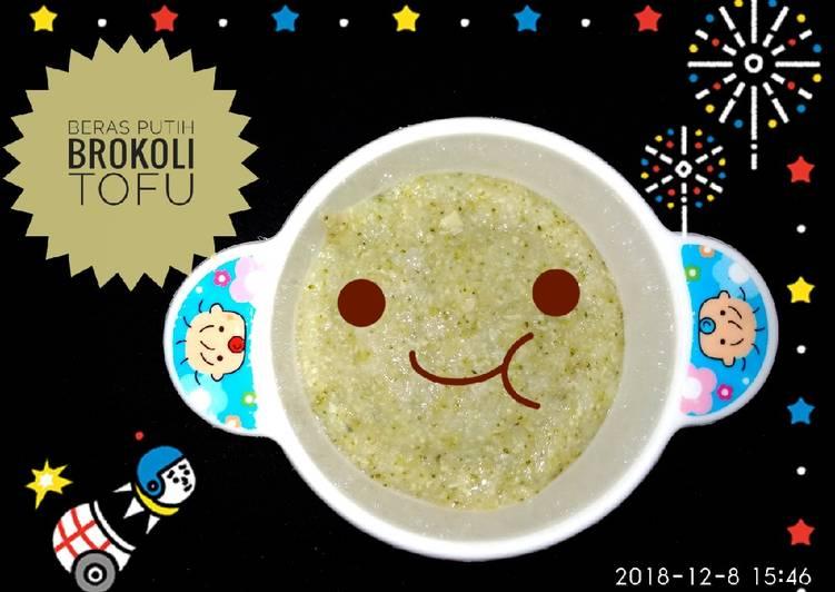 Resep Mpasi 6 Bulan Tofu Brokoli Oleh Pita Restu Ayu Cookpad