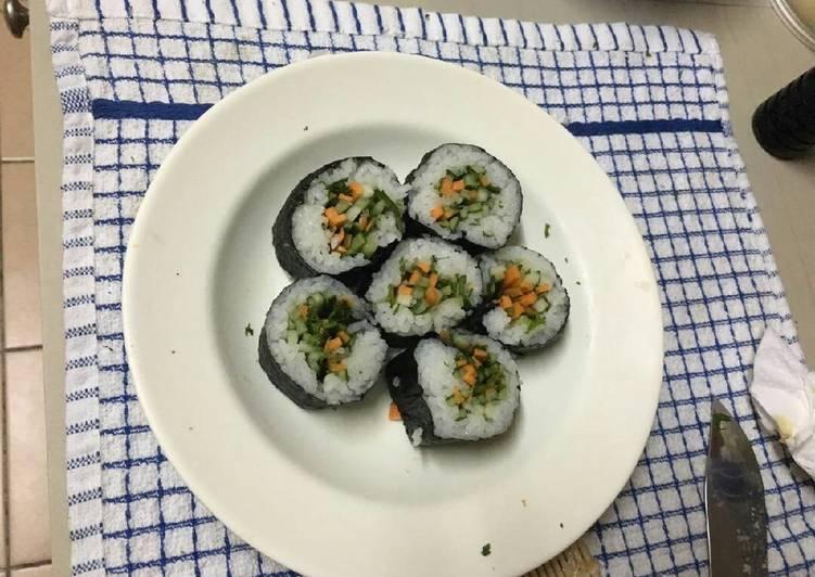 Sushi vegetable roll