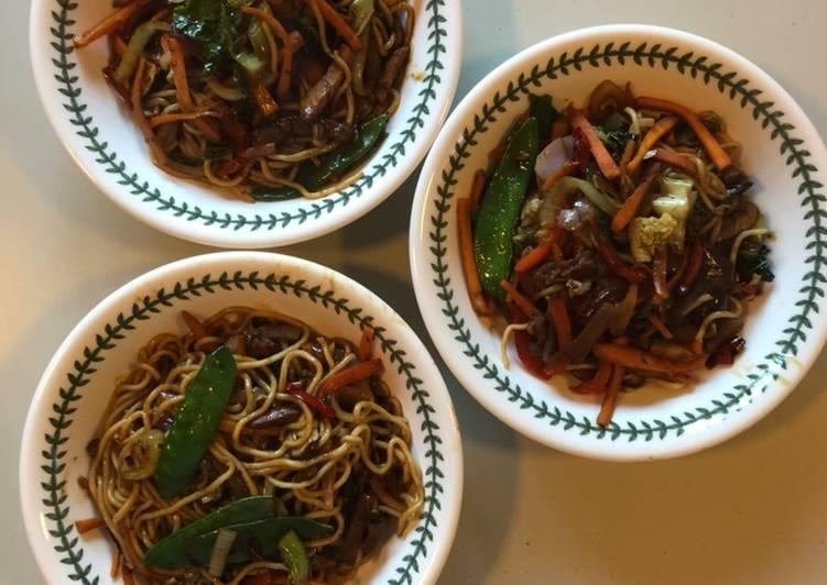Deliberate Pork Stir-Fry with Mirin