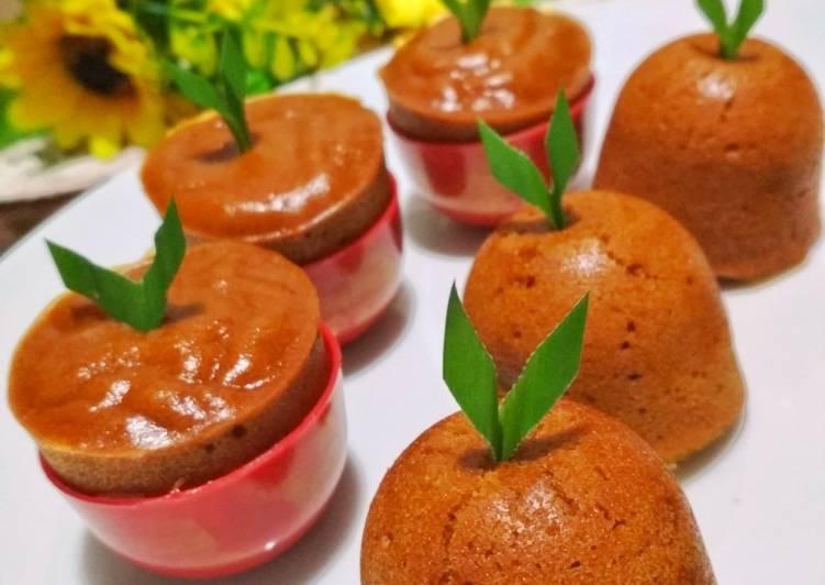 resep mengolah Bolu Karamel Eggless - Sajian Dapur Bunda