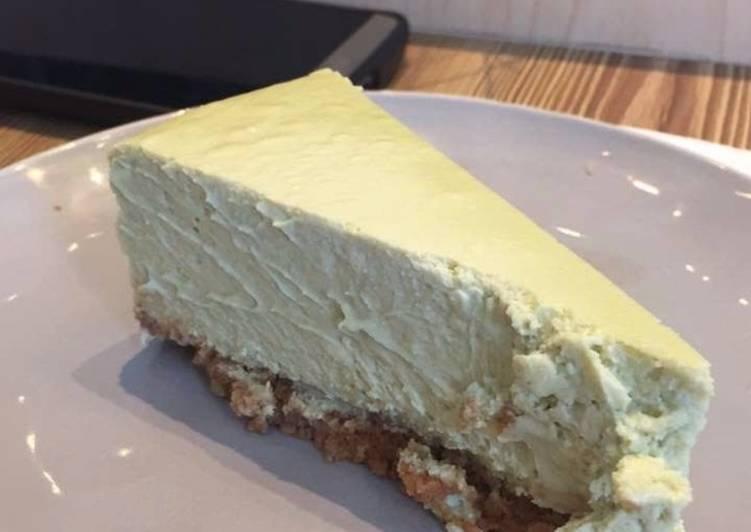 Kevin's Matcha Cheesecake