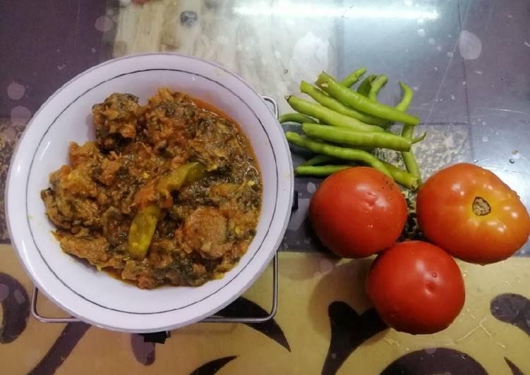 Easiest Way to Cook Perfect Chukka Tamatar Gosht