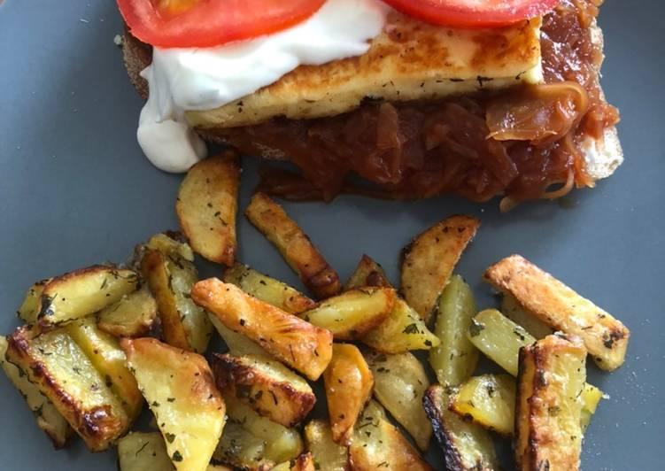 Easiest Way to Prepare Yummy Grillkäse Baguette