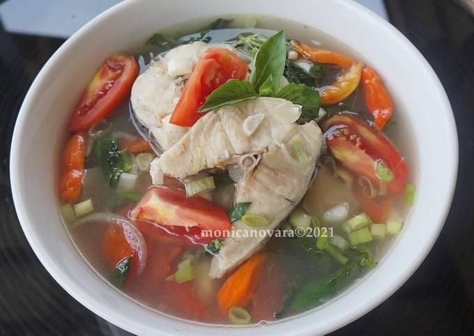 Sup Asam Segar Ikan Gabus