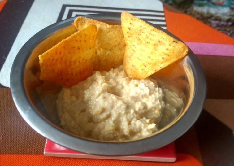 Steps to Make Perfect Nutty hummus