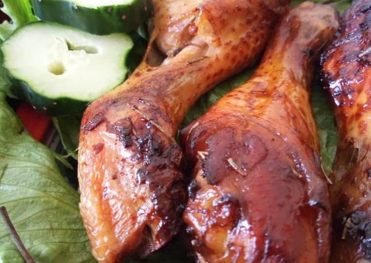 Teriyaki Marinated Baked Chicken