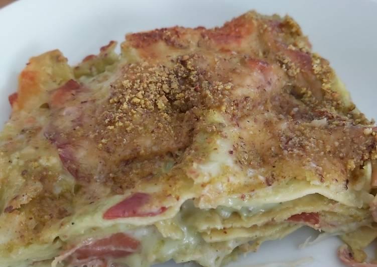 Easiest Way to Prepare Tasty Lasagne al pistacchio