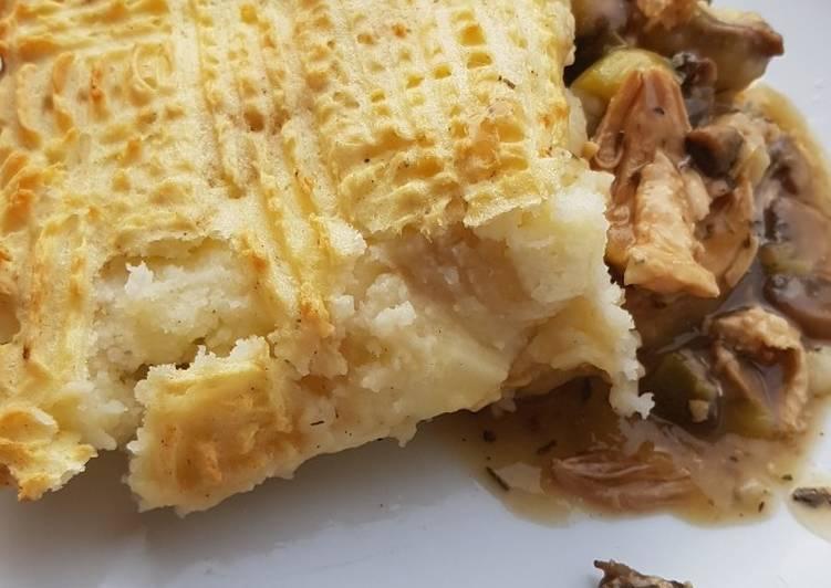 How to Prepare Speedy Chicken and mushroom pie