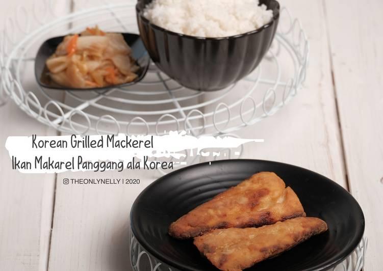 Korean Grilled Mackerel ~ Ikan Makarel Panggang ala Korea