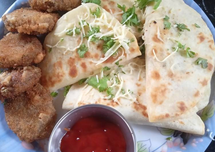 Easiest Way to Make Perfect Spicy Chatpata Aloo Naan