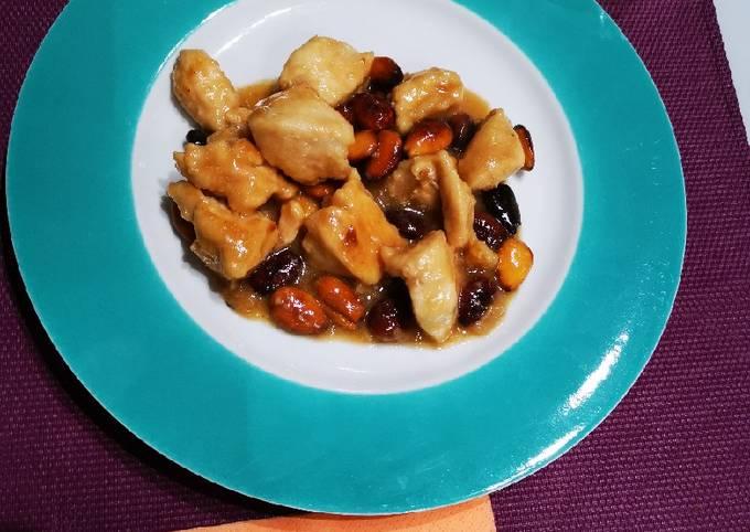 Bocconcini di pollo alle mandorle tostate