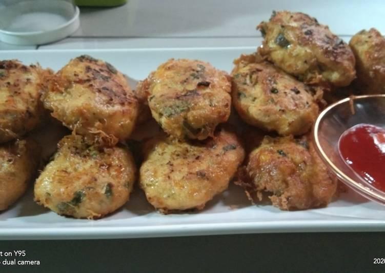 Perkedel Tahu Ayam - cookandrecipe.com
