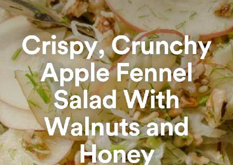 25 Minute How to Prepare Special An edited version of a classic Waldorf salad!! : Chia Recipes💞