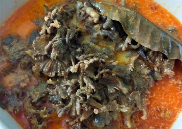 #19 Gulai jamur grigit