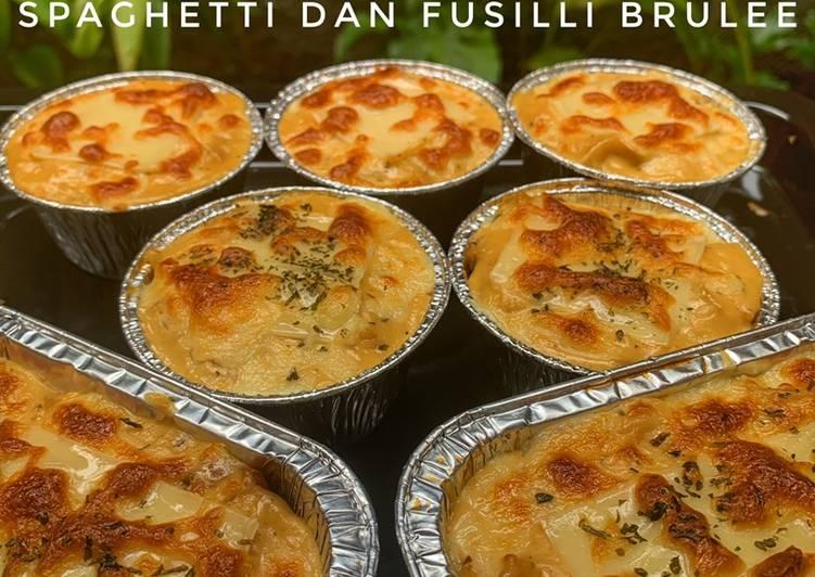 Spaghetti & Fusilli Brulee