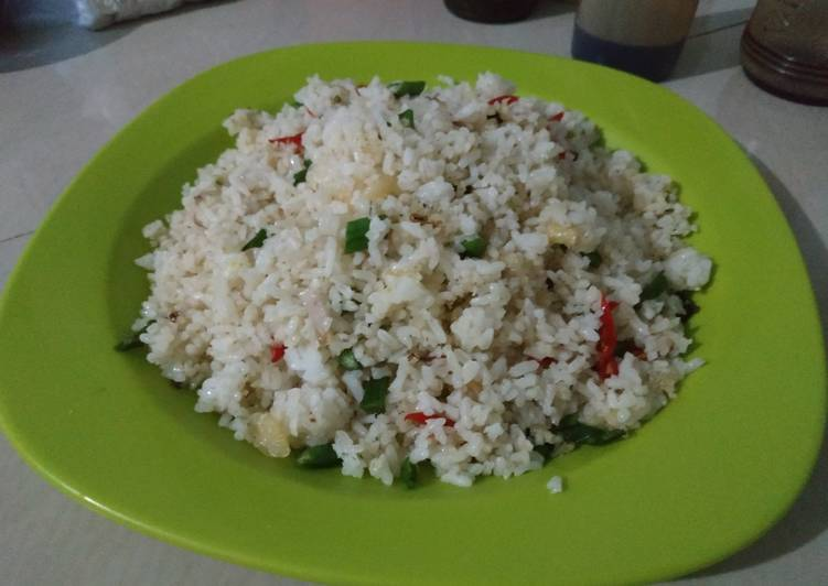 Resep 61. Nasi Goreng Putih Sehat Top