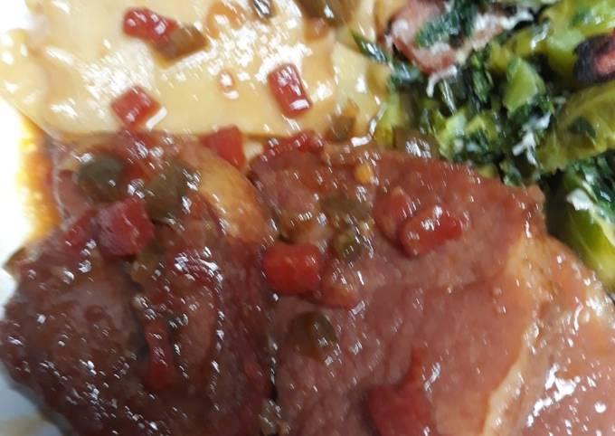 Stewed Ham