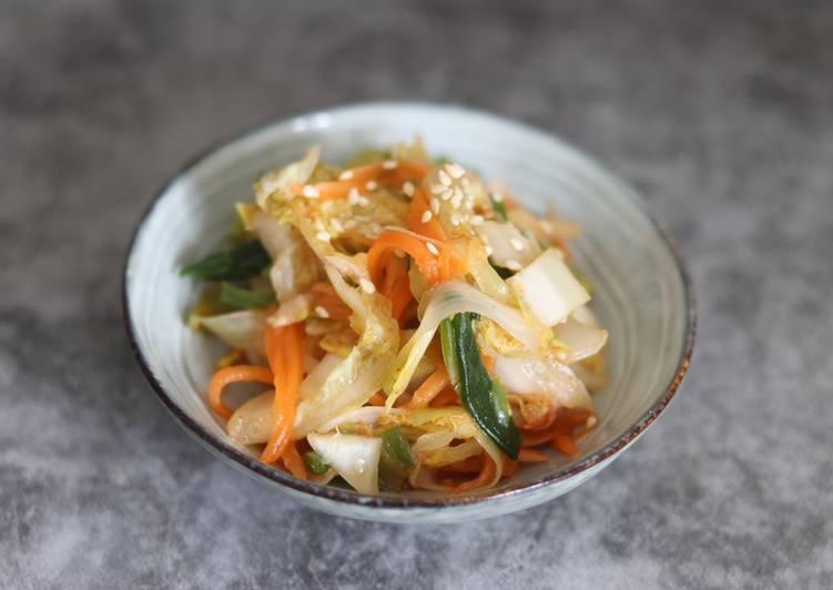 Auntie Eiko's inspired kimchi 🌶🥬