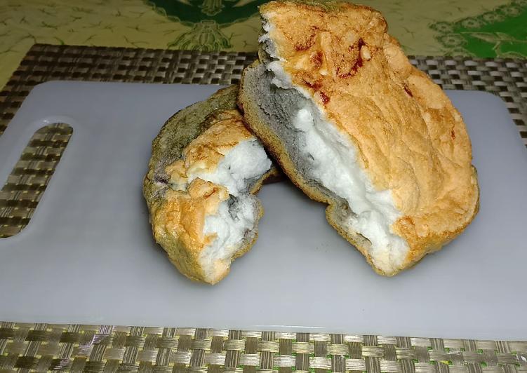 Cloud Bread Roti Kapas 3 bahan