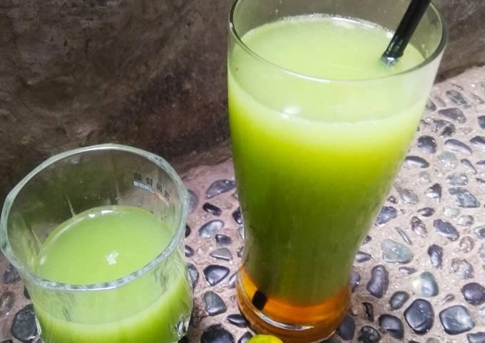Jus timun lemon cui/penurun tekanan darah tinggi