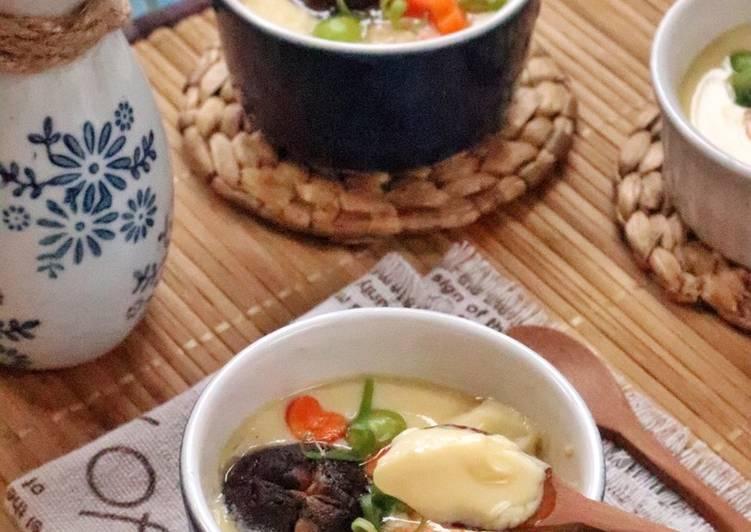 Resep Silky Chawan Mushi (Japanese Steamed Egg) Anti Gagal