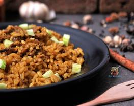 Nasi Goreng Domba Timur Tengah