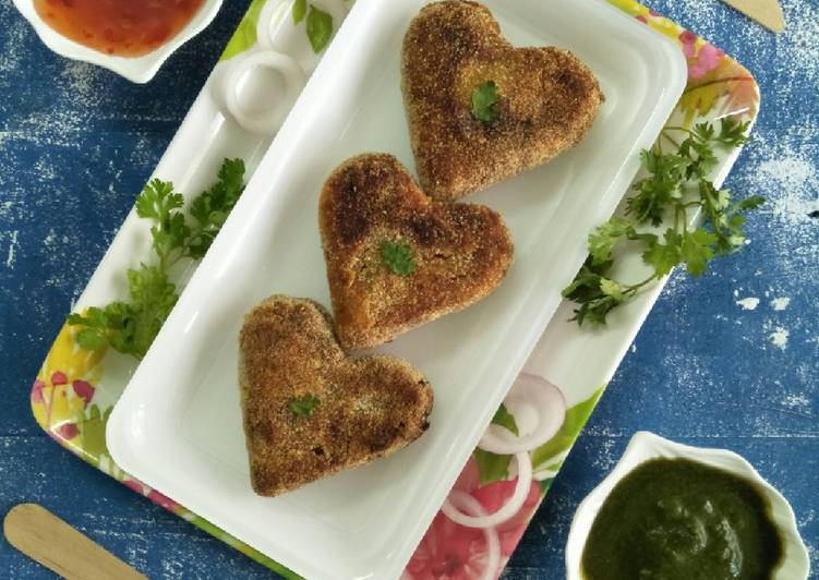 How to Make Tasty Sweet Potato And Mix Veggie Cutlets