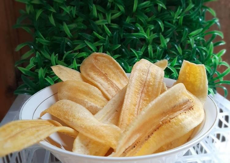 Keripik pisang kepok