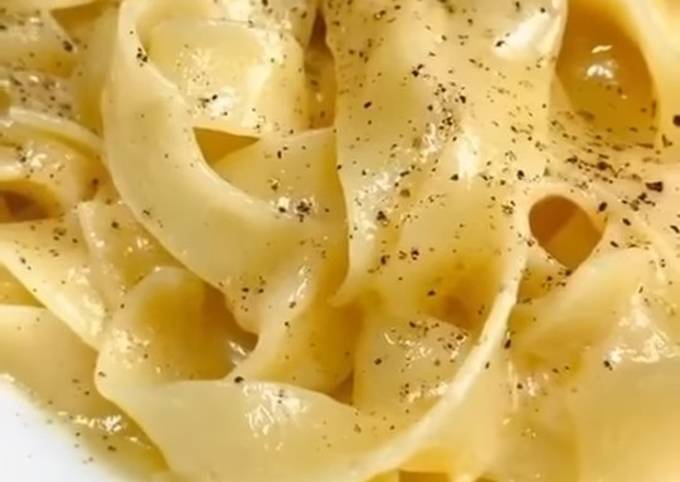 Recipe: Delicious Fettuccine Alfredo