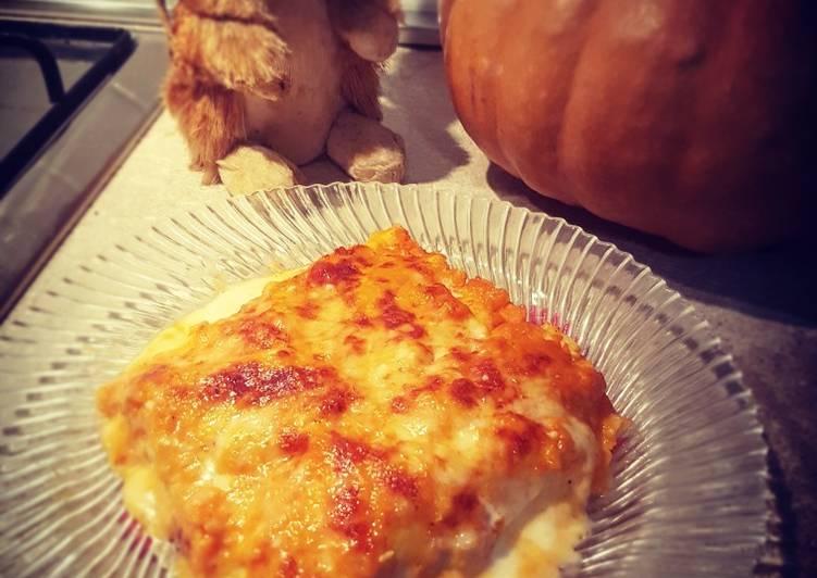 Recipe: Yummy Pumpkin lasagne